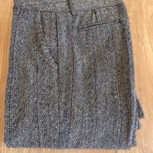 Zara Wool Blend Dress Pant
